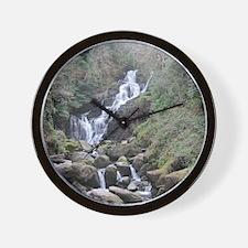 Torc waterfall Wall Clock