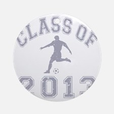 Class Of 2013 Soccer Round Ornament