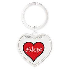 One less orphan Heart Keychain