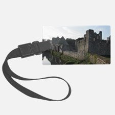 Castle ruins Luggage Tag