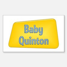 Baby Quinton Rectangle Decal