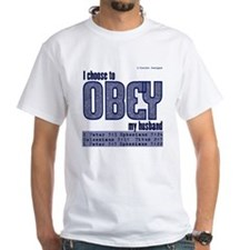 Choose to Obey BLUE Shirt
