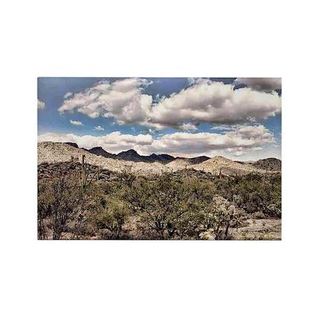 saguaro reserve Rectangle Magnet