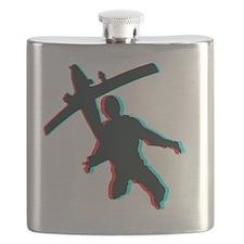 3D Freefall 1 Flask
