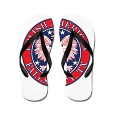 Falls City Texas Polish Flip Flops