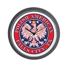 Falls City Texas Polish Wall Clock