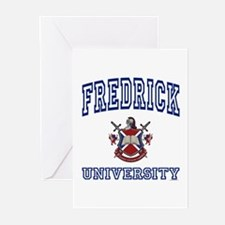 FREDRICK University Greeting Cards (Pk of 10)