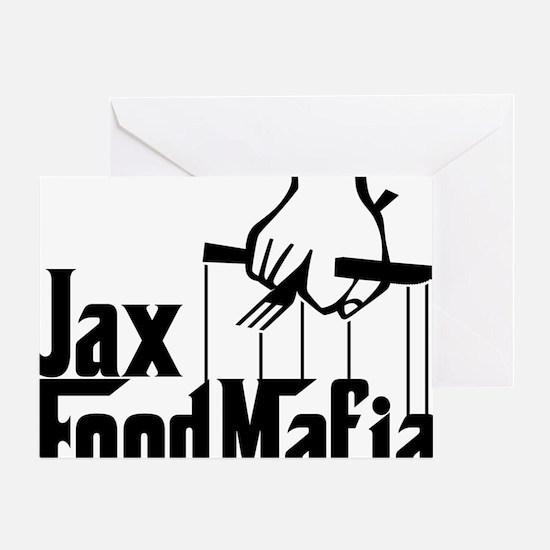 Jax Food Mafia Greeting Card