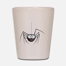 Goofy Furry Spider Shot Glass