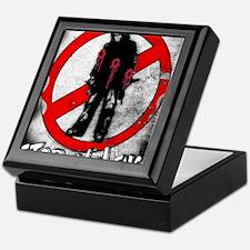 STOP THE VIOLENCE---BLOOD Keepsake Box