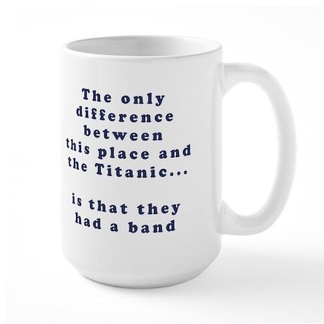 Titanic Band 15-oz Coffee Mug