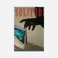 Solitude Rectangle Magnet