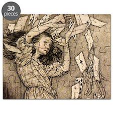 Arthur Rackham Alice Puzzle