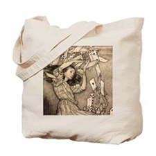 Arthur Rackham Alice Tote Bag