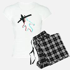 3D Freefall 1 (Dark) Pajamas