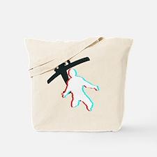 3D Freefall 1 (Dark) Tote Bag