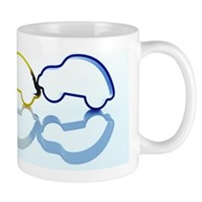 The accident of the car Mug