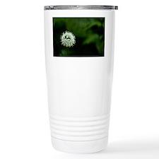 Flower of one wheel Travel Mug