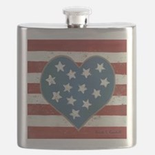 American Love Flask