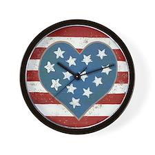 American Love Wall Clock