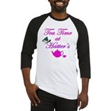 Alice in wonderland tea cup Baseball Tees & Raglans