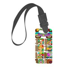 Mayan Stela Luggage Tag