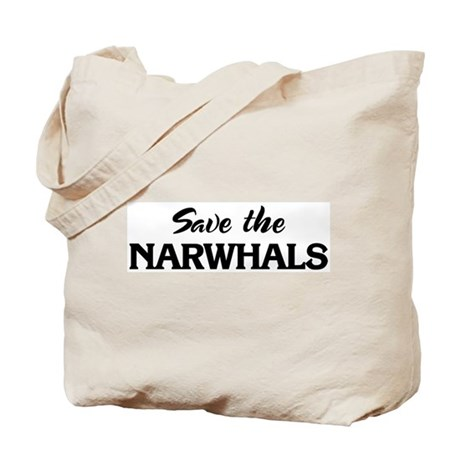 Save the NARWHALS Tote Bag