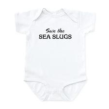 Save the SEA SLUGS Infant Bodysuit