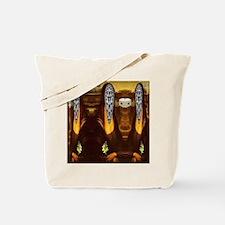 Mona Lisa Bats #5 Tote Bag