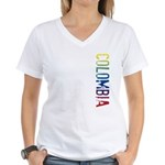 Colombia Women's V-Neck T-Shirt