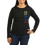 Colombia Women's Long Sleeve Dark T-Shirt