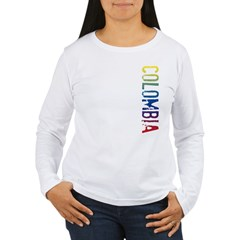 Colombia Women's Long Sleeve T-Shirt