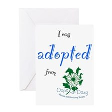 I was adopted from Oops-a-Dazy Greeting Card