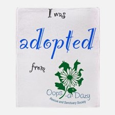 I was adopted from Oops-a-Dazy Throw Blanket