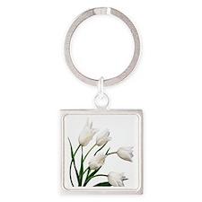 Tulip Square Keychain