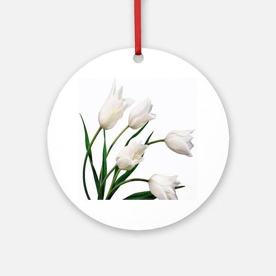 Tulip Round Ornament