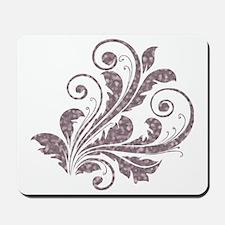 Artistic Floral Mousepad