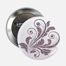 """Artistic Floral 2.25"""" Button"""