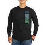Djibouti Long Sleeve Dark T-Shirt