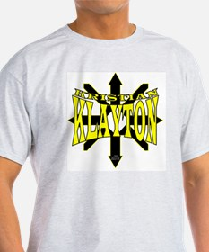 Kristian Klayton Yellow/Black Logo T-Shirt