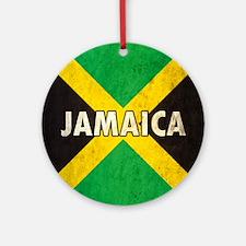 Jamaica Round Ornament