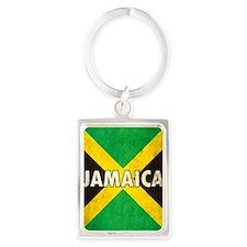 Jamaica Portrait Keychain