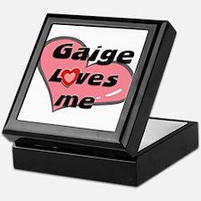 gaige loves me Keepsake Box
