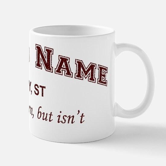 Brand Name Collegiate Mug
