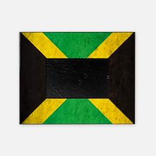 Vintage Jamaica Flag Picture Frame