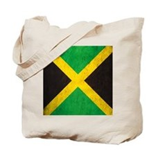 Vintage Jamaica Flag Tote Bag