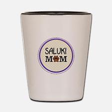 Saluki Dog Mom Shot Glass