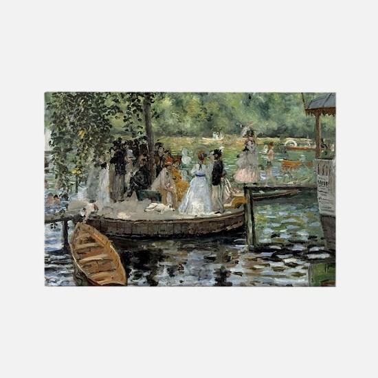 Pierre-Auguste Renoir La Grenouil Rectangle Magnet