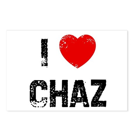 I * Chaz Postcards (Package of 8)