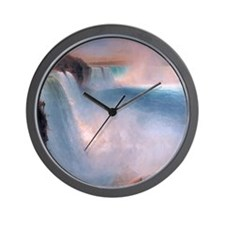 nf_shower_curtain2 Wall Clock